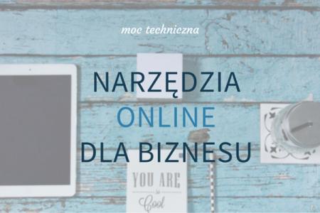 Narzędzia online dla biznesu